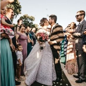 image of a wedding ceremony